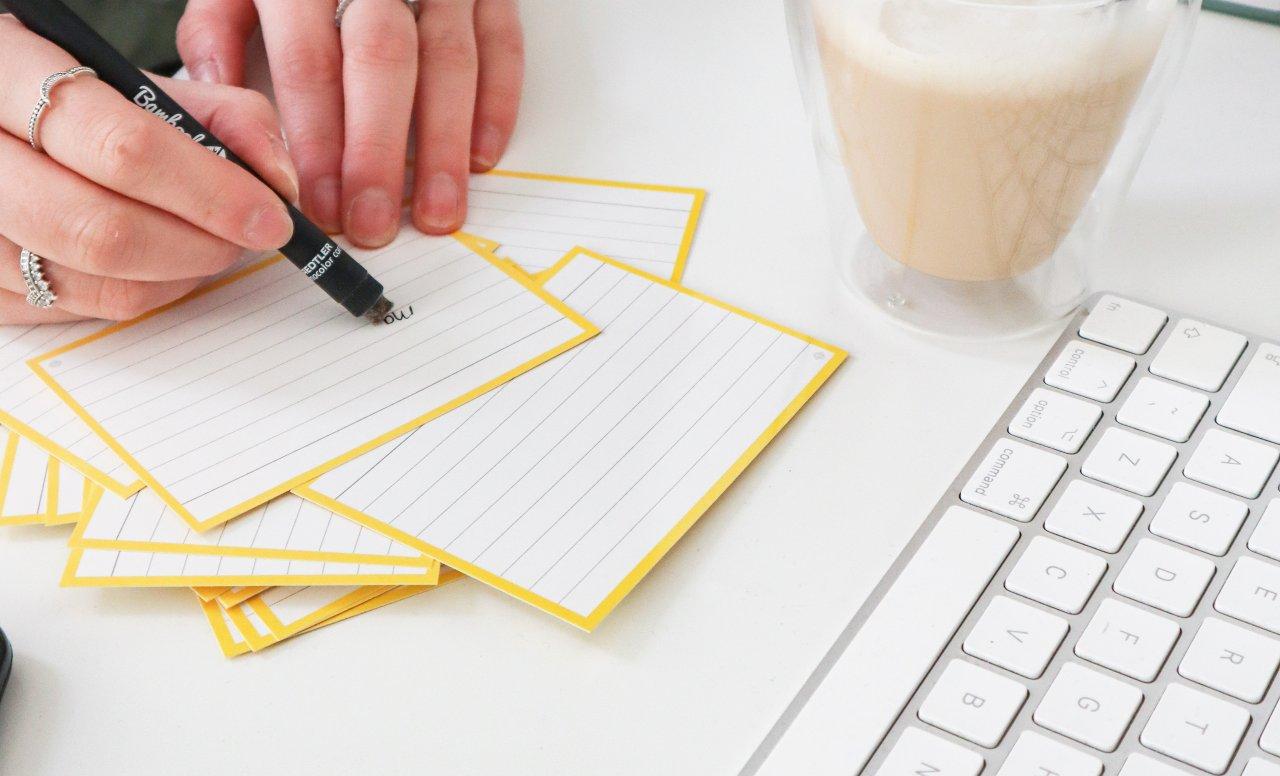 Brainstorm flashcards