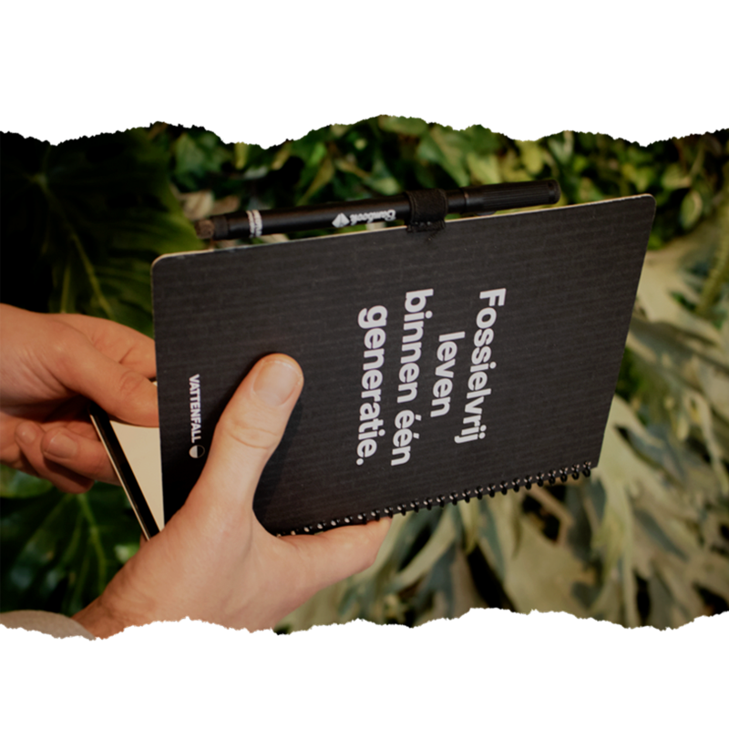 Bambook softcover Vattenval