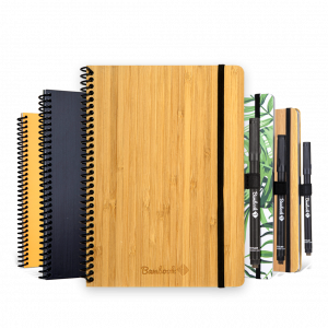 All classic erasable whiteboard Bambook notebooks