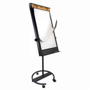 The Bambook flip-ever is a resuable whiteboard flipchart