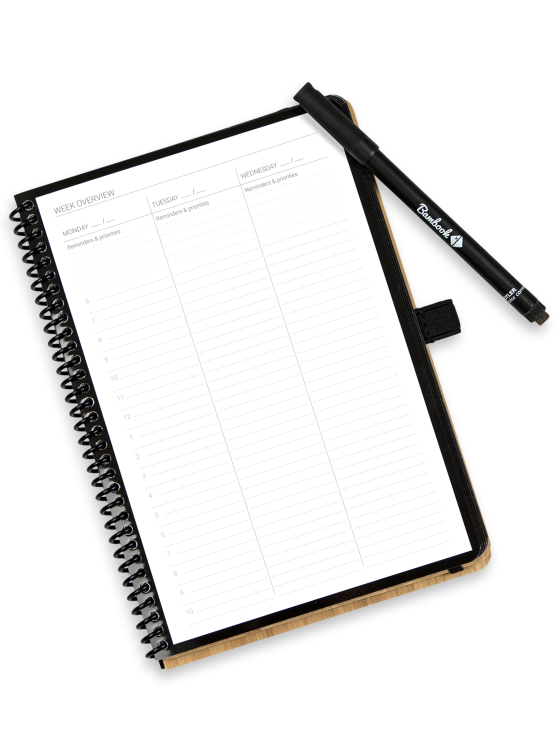 Bambook do-book weekly planner