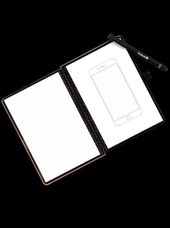 Flowbook dotted + mobile