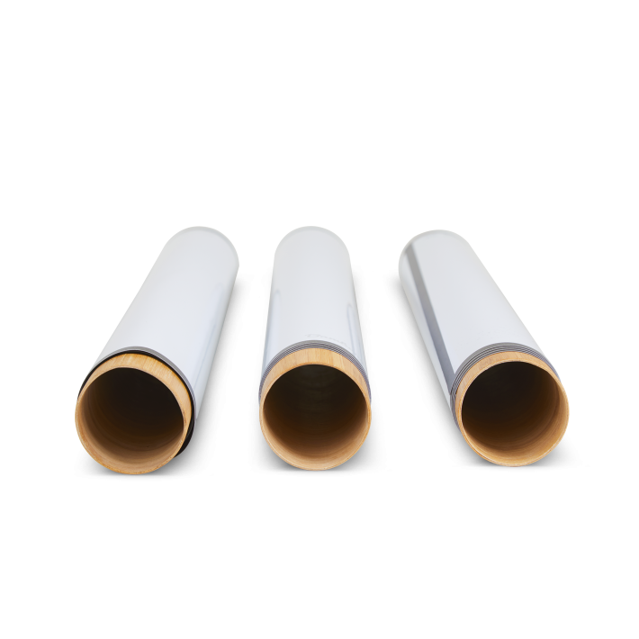 3 stick-on sheets on tube