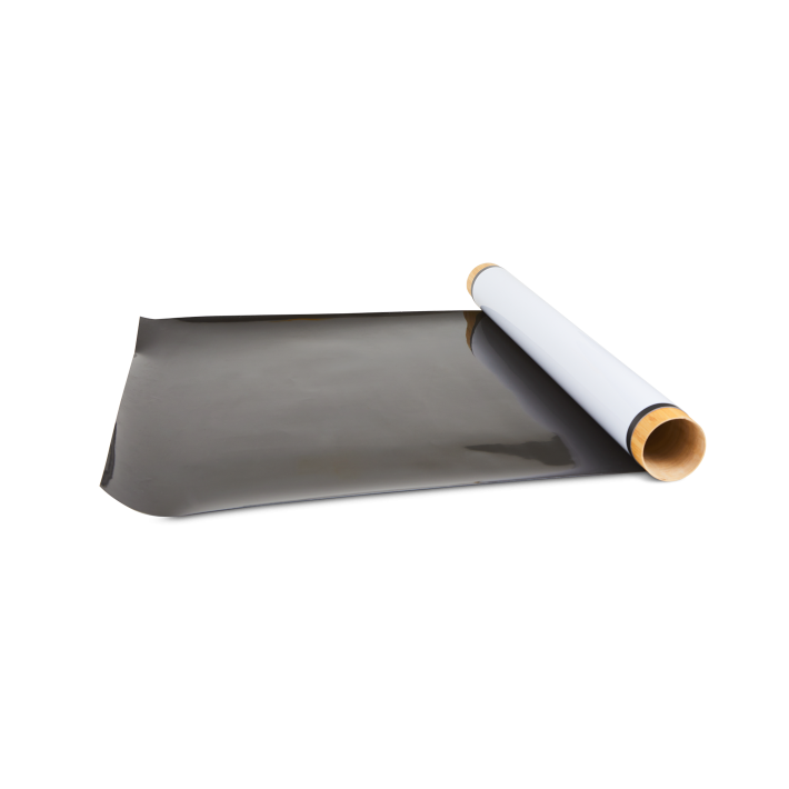 Roll out stick-on sheet