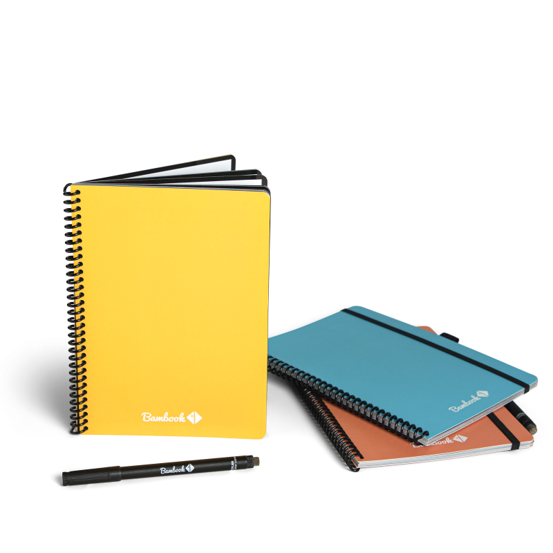 Bambook colourful notebooks